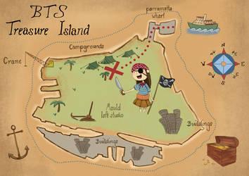 BTS Treasure Island by dog-food