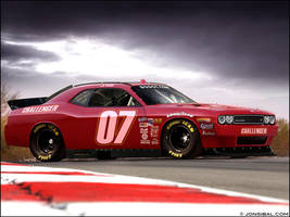 NASCAR Challenger by jonsibal