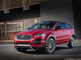 Jaguar Crossover Concept by jonsibal