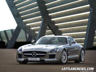 Mercedes Benz SLS AMG Black Series by jonsibal