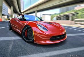 Corvette C7 Concept by jonsibal