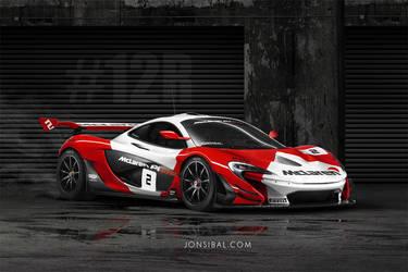 McLaren P1 GTR by jonsibal