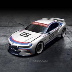 BMW CSL Hommage Concept by jonsibal