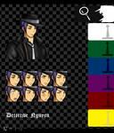 ..:.:: [Nyotalia Cluedo] - The Detective by Hebigami-Okami-77