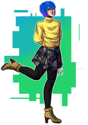 cambio de ropa~ by luceblue