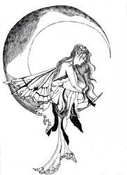 Moon Fairy by CeriseSunset