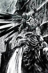 Batman Commission #3 by Hristov13