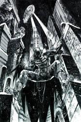 Batman Commission #6 by Hristov13