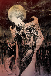 Moon Knight Commission 2 by Hristov13