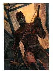 Daredevil Watercolor by Hristov13