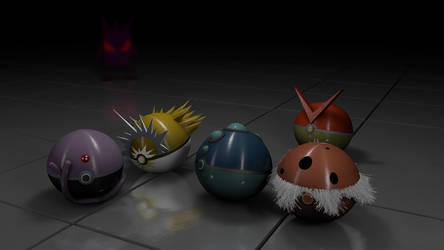 Pokeball-collection 1 by andreb1996