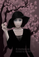 Under the Cherry Tree by blacklady-vip
