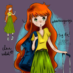 DTIY | My own | Clara Walsh by junesketches