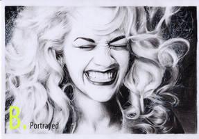 Rita Ora by B-Portrayed