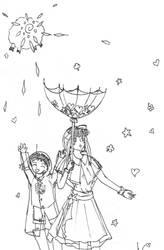It's raining hearts n clover by failedravenclaw