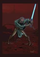 The Unknown Jedi Returns by MRHaZaRD