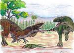Eustreptospondylus oxoniensis by Hueycuetzpalin