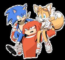 Sonic boom by wdom909