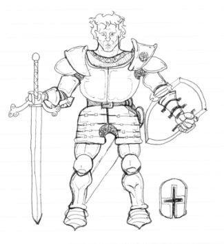 Knight by davidbarrkirtley