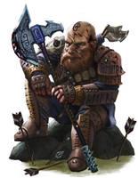 Dwarf Ranger by Rhineville