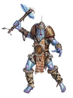 Frost Giant by Rhineville