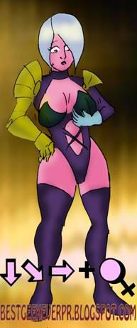 Fighting Femme July Ivy by Batzarro