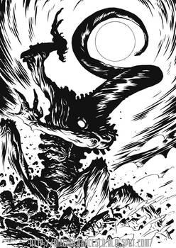 375th Avatar of Nyarlathotep by francesco-biagini