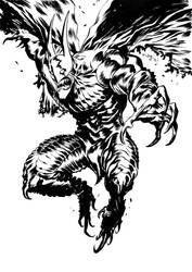 Bat-Venom by francesco-biagini