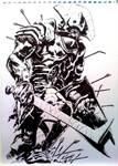 Uruk-hai Warlord by francesco-biagini