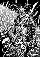 Worm Demon by francesco-biagini