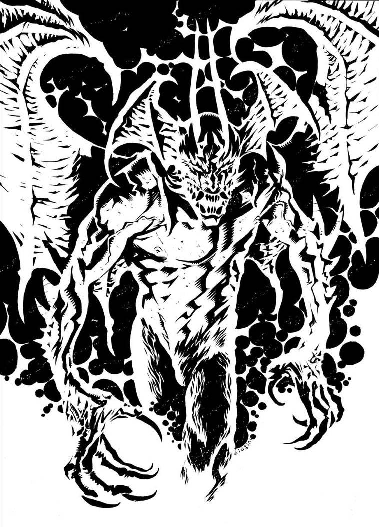Devilman crybaby by francesco-biagini