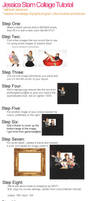 Jessica Stam: Collage Tutorial by yourpublicist