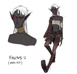 Favns - new OC design by Kociepierogi