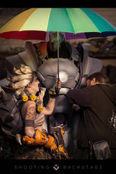 Backstage - Reinhardt cosplay (Overwatch) by LibsCosplay