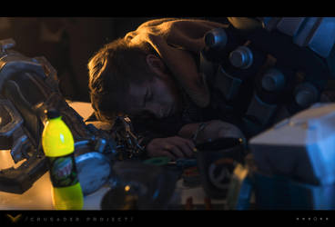 /Crusader Project/ [4/6] - Reinhardt cosplay by LibsCosplay
