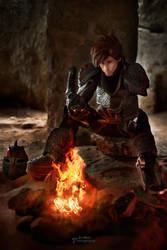 Dragon Fire - HTTYD3 Hiccup Cosplay by LibsCosplay