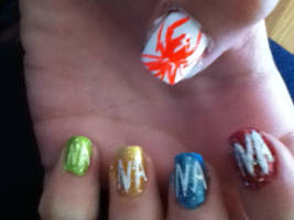 Nails: my_chemical_romance by hiannis12