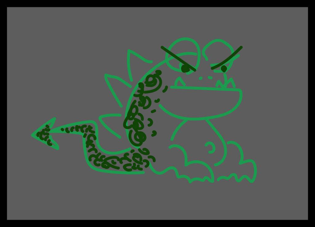 Zoe and The Mugwump 2 - Green Mugwump Sketch by MrReese-Mysteries