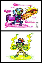 Homestuck Trolls - Dokapon - Rico Jr by MrReese-Mysteries