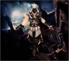 Droid Background: Ezio - AC II by nerdyconfessions