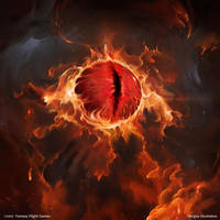 The Eye of Sauron by DinoDrawing