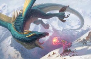 DragonBattle by DanRobArt