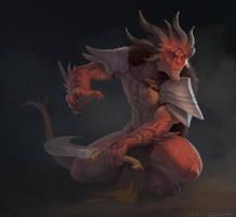 Demon Hunter by DanRobArt