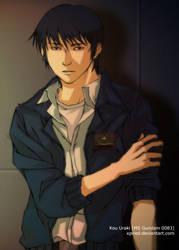 MS Gundam 0083 - Kou Uraki by xpired