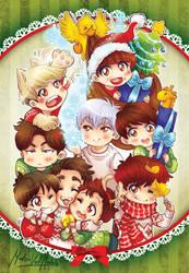 Sj Christmas Card by velmadzik
