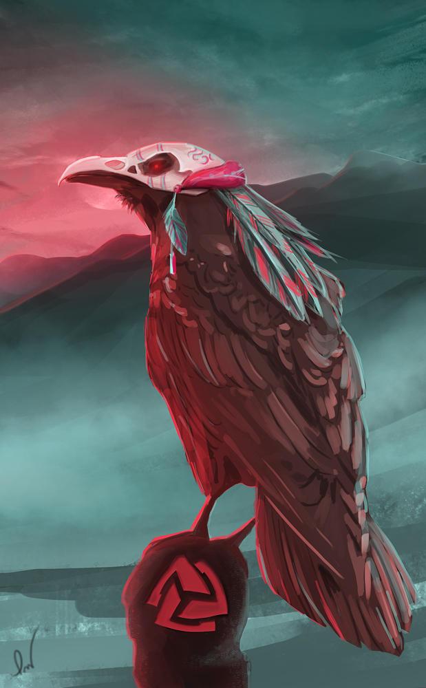 Witch Doctor Raven by PatrykWojciechowicz