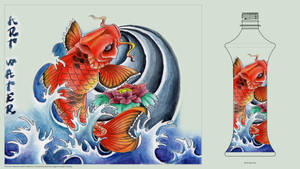 Art Water Koi by Tatsu87
