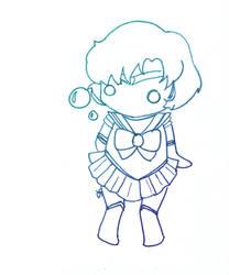 Sailor Mercury by shaylynk
