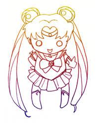 Sailor Moon by shaylynk