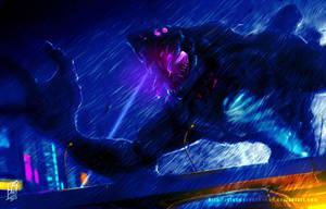 Fanart : Pasific Rim ~Kaiju Spoted by SlongsongKosong